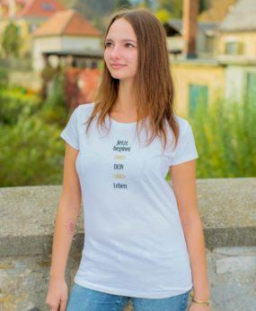 Sei Daham - Damen Shirt Leben Front