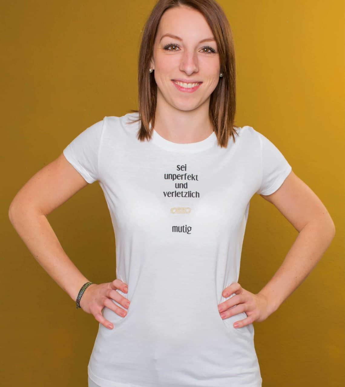 Sei Daham - Damen Shirt Mutig Front
