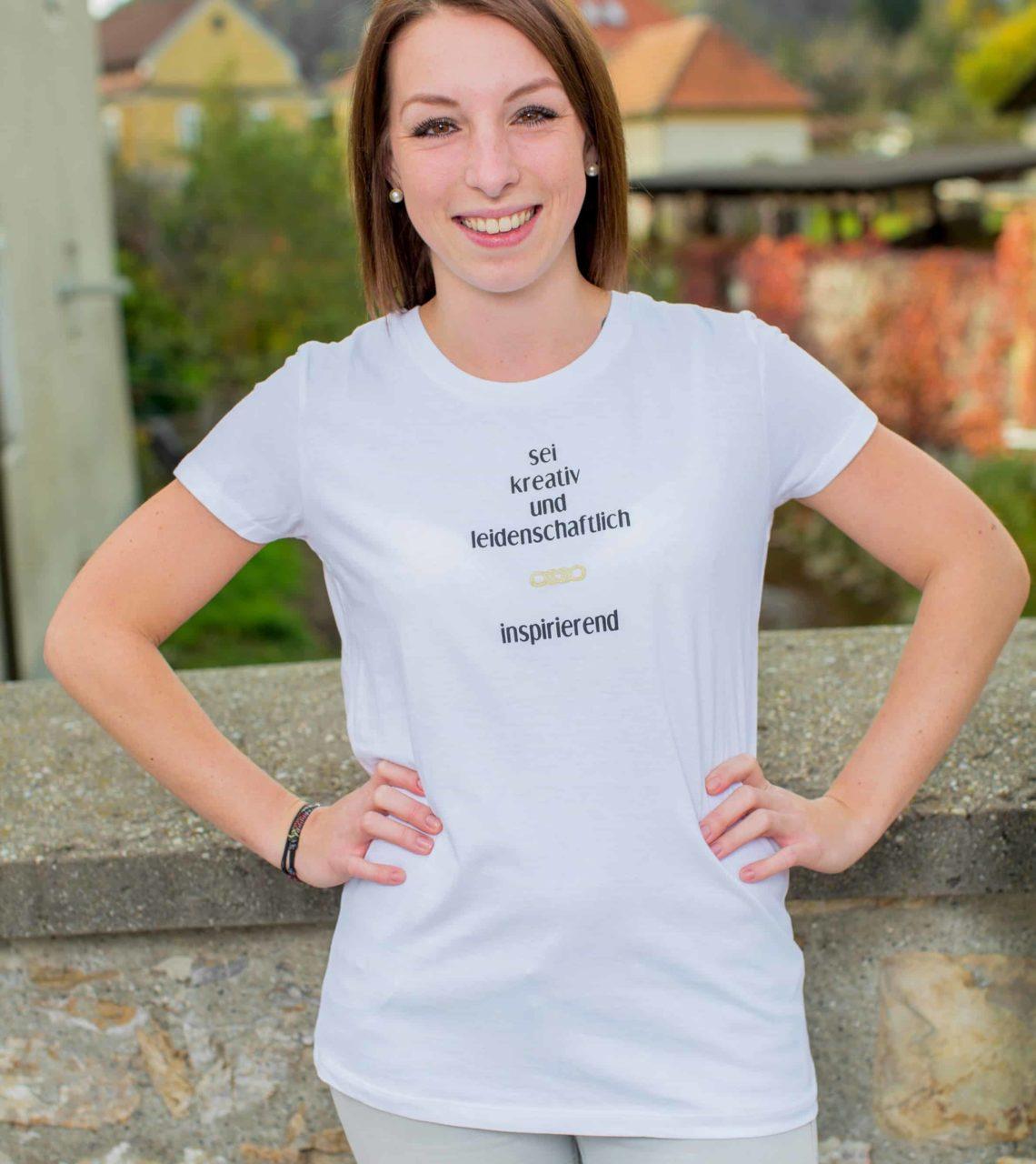 Sei Daham - Damen Shirt inspirierend Front 2