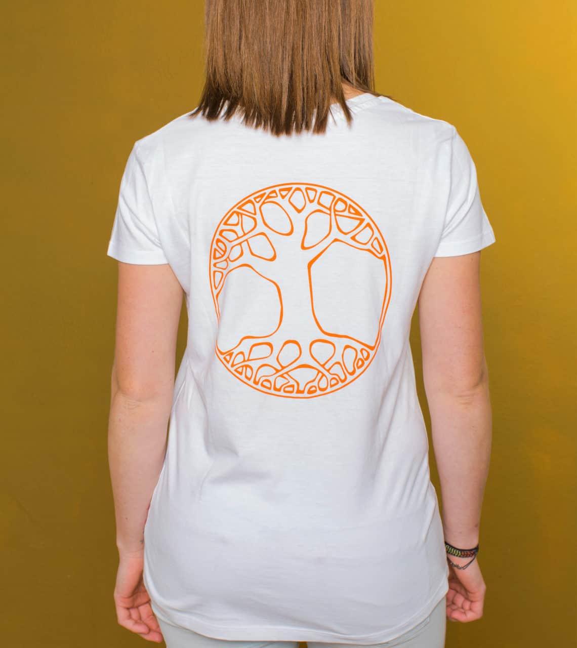 Sei Daham - Damen Shirt inspirierend Rück